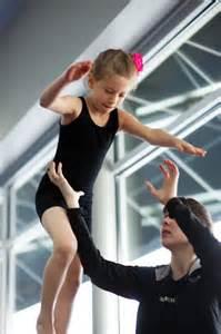 Girl Gymnastics Coach