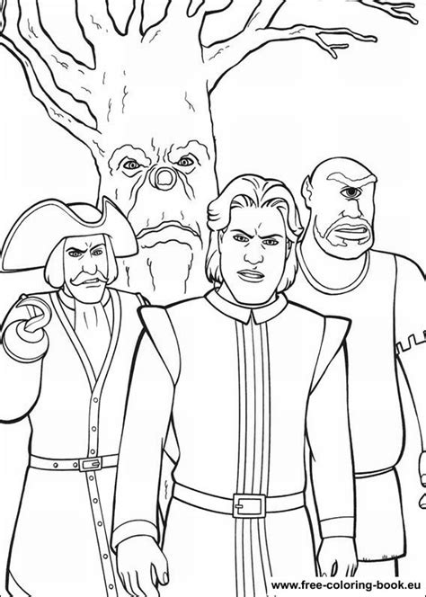 coloring pages shrek page  printable coloring pages