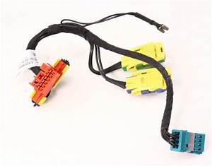 Airbag Clock Spring Wiring Harness Plugs 04-06 Phaeton - Genuine