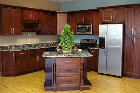 shaker kitchen cabinets buy cherry shaker kitchen cabinets from gec cabinet depot Cherry