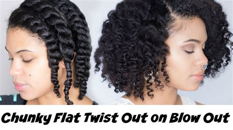 Flat Twist Out Hairstyles by 15 Easy Twist Out Hair Styles Curly Swag