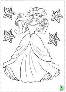 Little Mermaid Disney Ariel Coloring Pages
