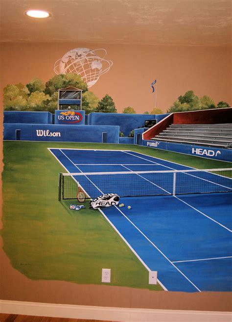 sports murals kids boston  macmurraydesigns
