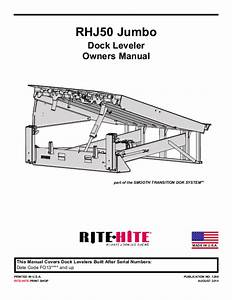 Rite Hite Dock Leveler Installation Manual