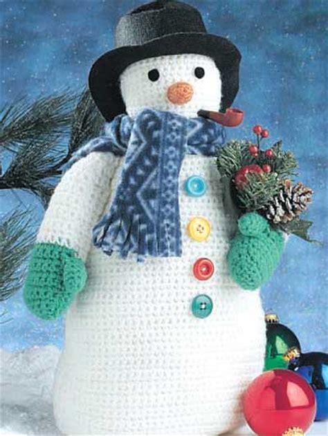 snow snowflake  snowman designs  crochet