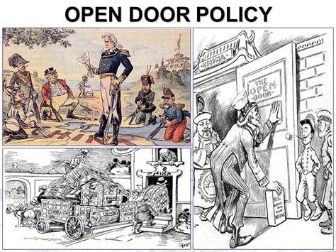 open door policy imperialism 1872 ppt