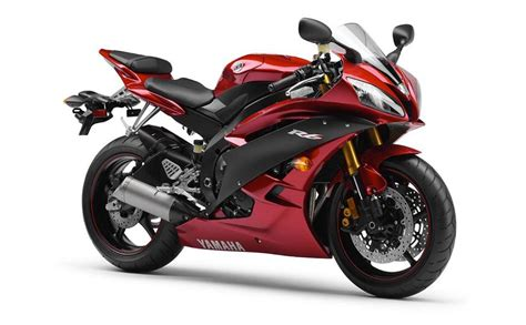 Yamaha Yzf-r6 2007 Red Decal Kit By Motodecal.com