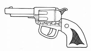 pistol coloring pages - gun clipart images clipart panda free clipart images