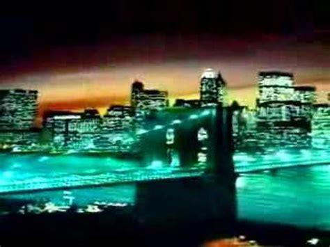 cadre new york city lumineux