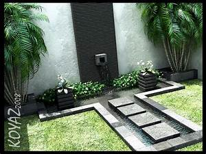 Beautiful Courtyard Design And Landscaping Ideas Stone ...