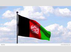 Animated Flag Of Afghanistan Stock Animation 1862790