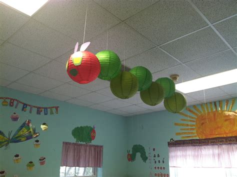 hungry caterpillar lanterns hanging from ceiling in 602 | 26abbf17cfb53be76e1885f15e73193c