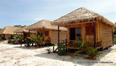 Leng Meng Bungalows On Koh Rong Samloem Island In