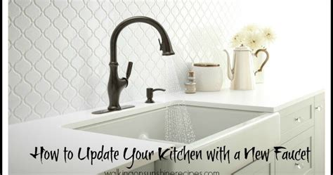 How to Update the Look of your Kitchen with a New Faucet