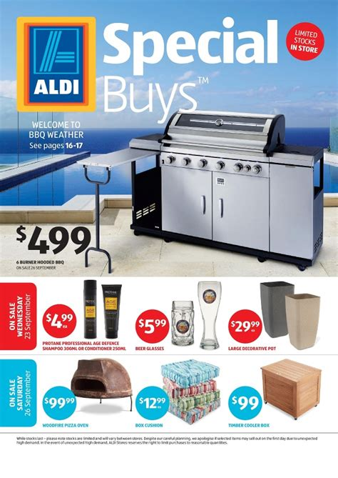 Aldi Patio Furniture 2015 by Aldi Special Buys Week 39 September 2015