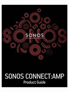 Sonos Connect Amp Product Manual Pdf Download