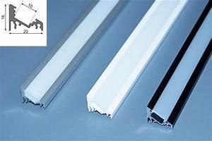 Led Strip Profil : 2 m alu profil aluminium schiene f r led strip s alu led profil f r led leisten ebay ~ Buech-reservation.com Haus und Dekorationen