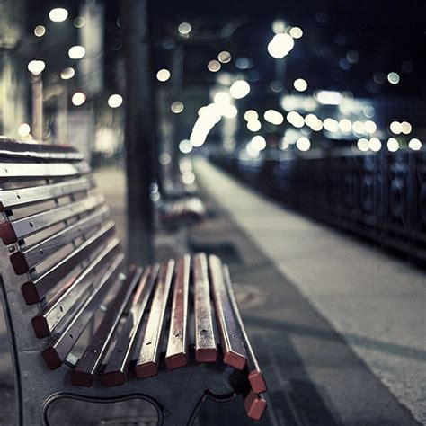 freeios mf street chair melancholy night lights bokeh