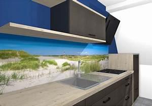 Spiegel Als Küchenrückwand : motiv nordsee strand als k chenr ckwand fliesenspiegel ~ Michelbontemps.com Haus und Dekorationen