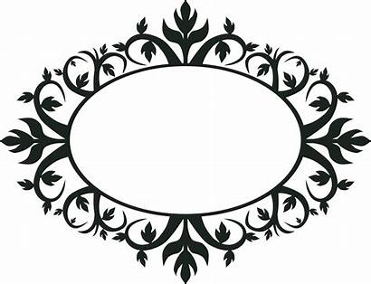 Pattern Magic Script Frame Space Ornament Circle