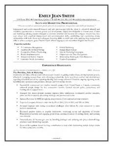 the most sales and marketing sle resume