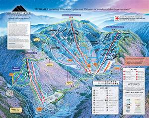 Smugglers U0026 39  Notch Resort Trail Map