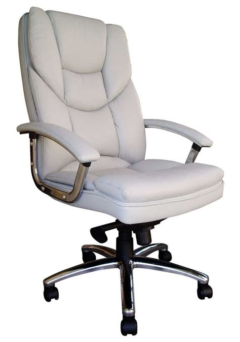 white office chair leather white leather desk chairs choose the best