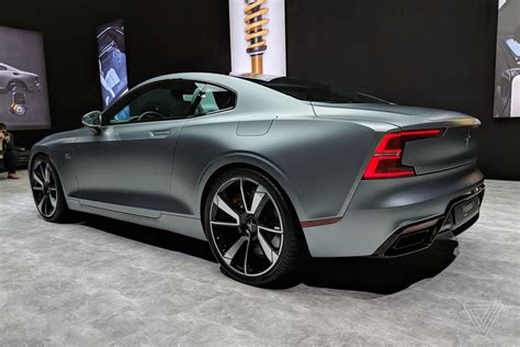 Volvo Car : This Is The Polestar 1, Volvo's New Turbocharged Electric