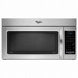 Whirlpool Wmh76718as 1 8 Cuft Over The Range Microwave