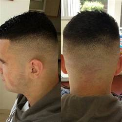 Military High and Tight Haircut Fade