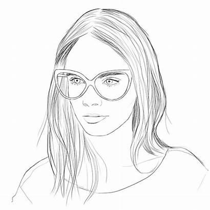 Coloring Portrait Pages Mother для раскраска взрослых