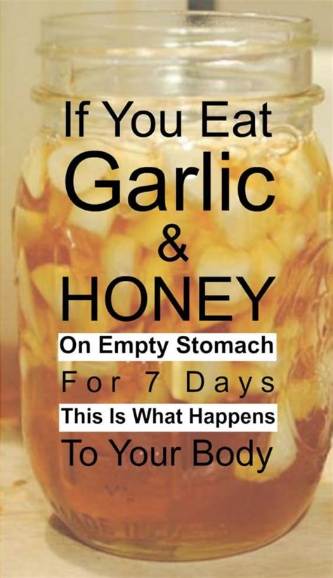 If You Eat Garlic and Honey On an Empty Stomach For 7 Days
