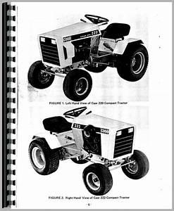 Case 444 Lawn  U0026 Garden Tractor Operators Manual