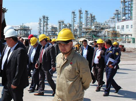 chinese oil company attacks workers kyrgyzstan industriall