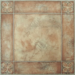 bordered beige self stick vinyl floor tiles 40 pcs 12 quot x 12 quot ebay