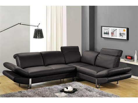 vente unique canapé d angle canapé d 39 angle saveur noir angle gauche canapé vente