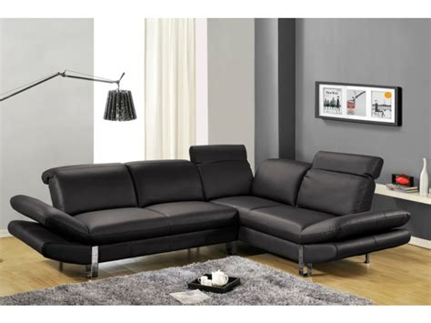 canapé d 39 angle saveur noir angle gauche canapé vente