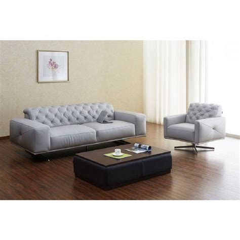Light Grey Living Room Sets by Othello Leather Living Room Set Light Grey By Jm