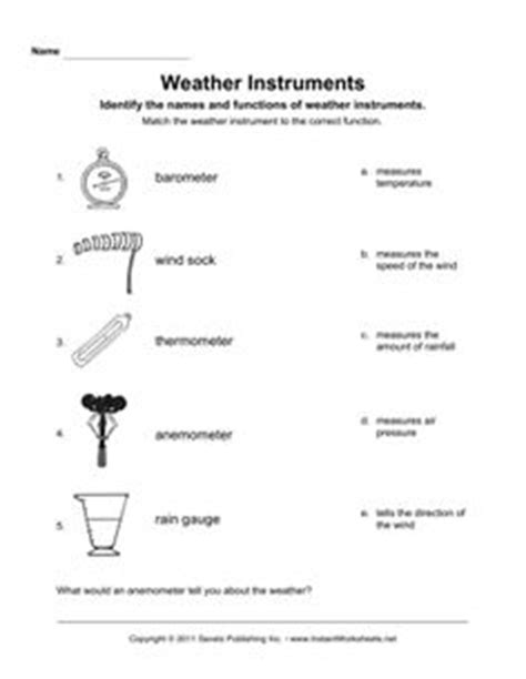 12 best images of weather math worksheets printable