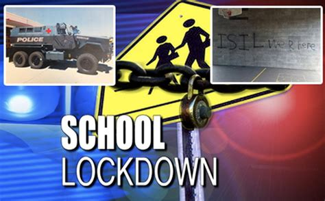 Lockdowns across USA after ISIS School Threats