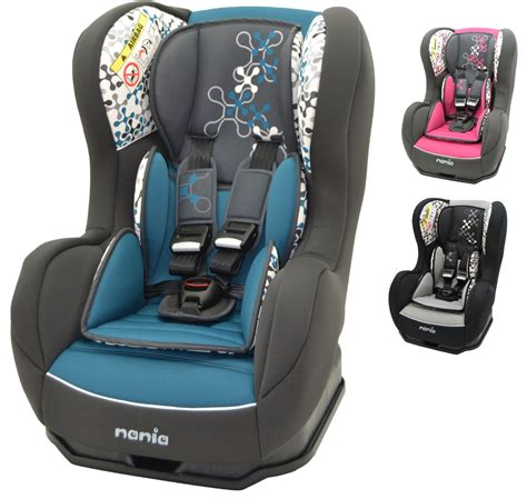si鑒e nania nania cosmo sp corail 0 1 car seat baby toddler child travel safety ebay