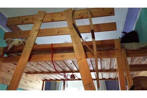 hochbett aus holz hochbett aus holz 140 x 200 in n 252 rnberg kinder jugendzimmer kaufen und verkaufen 252 ber