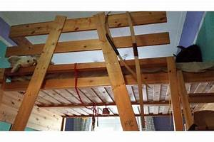 Hochbett Holz Kinder : hochbett aus holz 140 x 200 in n rnberg kinder ~ Michelbontemps.com Haus und Dekorationen