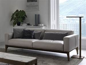 refresh your living room trio of comfy modern sofas from With floor lamp next to sofa