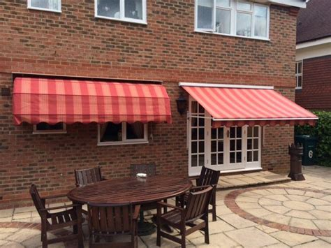 Matching Dutch Canopy And Drop Arm Awning By Deans Blinds