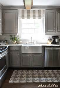 kitchen curtain ideas small windows dear lillie darker gray cabinets and our marble review