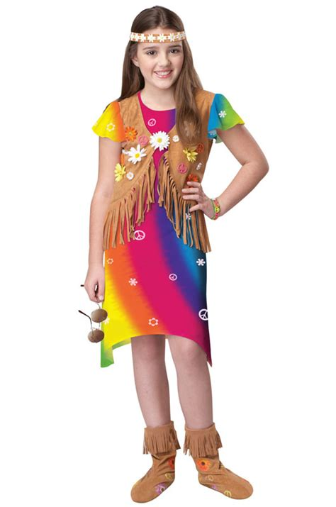 Hippie Flower Child 60u0026#39;s 60s Costume | eBay