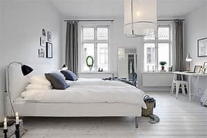 10, White, And, Gray, Bedroom, Interior, Design, Ideas