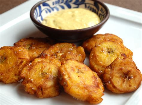 kitchen design interior decorating patacones recipe fried plantain with aji sauce