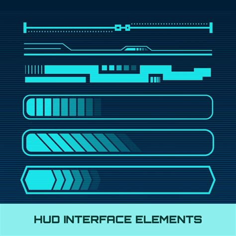 hud interface elements    images business
